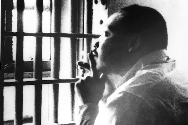 "In his ""Letter from Birmingham Jail"" (April 16, 1963), the Rev. Dr. Martin Luther King Jr. wrote, ""Injustice anywhere is a threat to justice everywhere."""