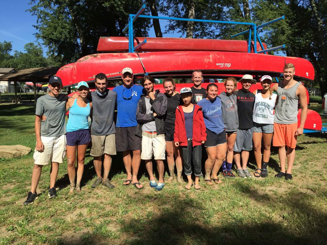 Denison Canoeing Orientation