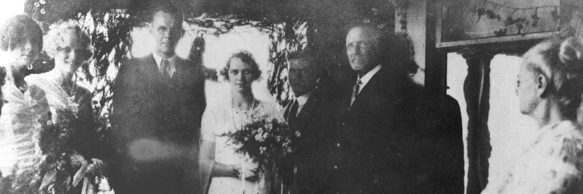 James and Catherine Carr, who married on June 29, 1930, would eventually succumb to Alzheimer's. Their last years proved extremely difficult for their family, including son Andy Carr '57.