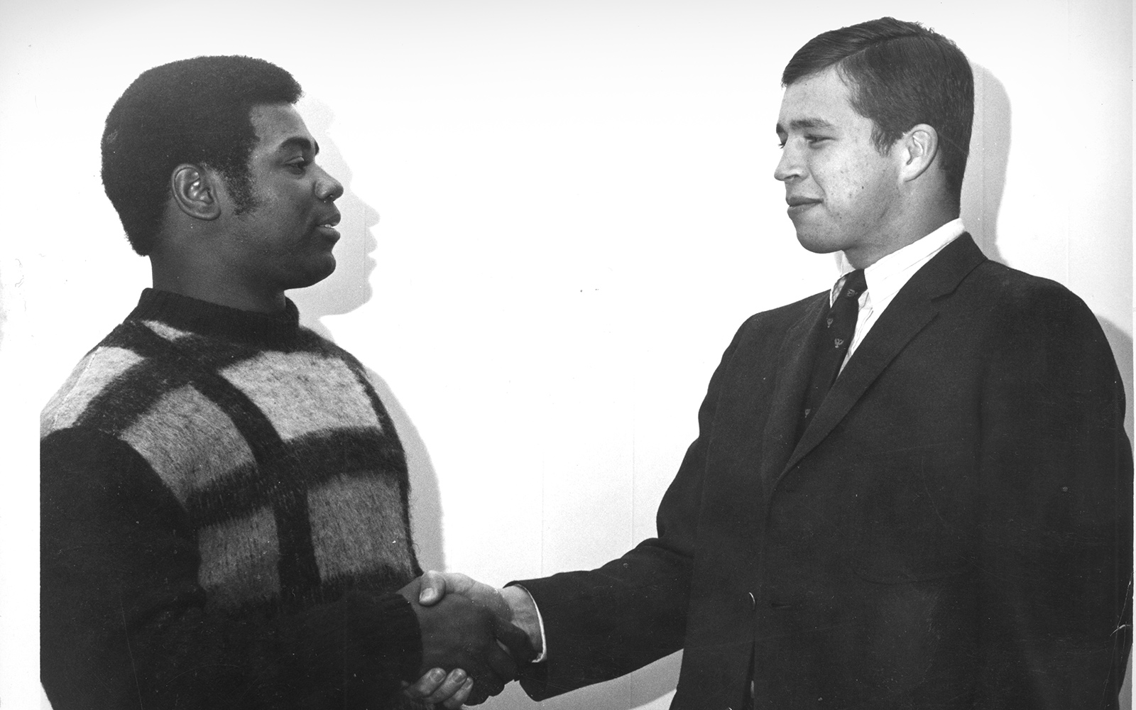 Henry Durand '70, who died in 2018, and Scott Trumbull '70 were teammates on Denison's football team. They would go on to work together for the betterment of the college after graduation. Durand became the president of the Black Alumni Asso…