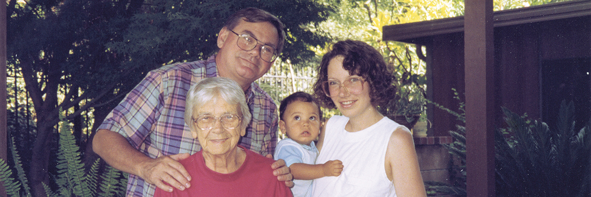 In moderate to advanced stages of Alzheimer's disease, sufferers will forget the names of their nieces and nephews, or of their grandchildren, and then their children's names. Eventually Andy Carr's mother didn't recognize her son or his fa…