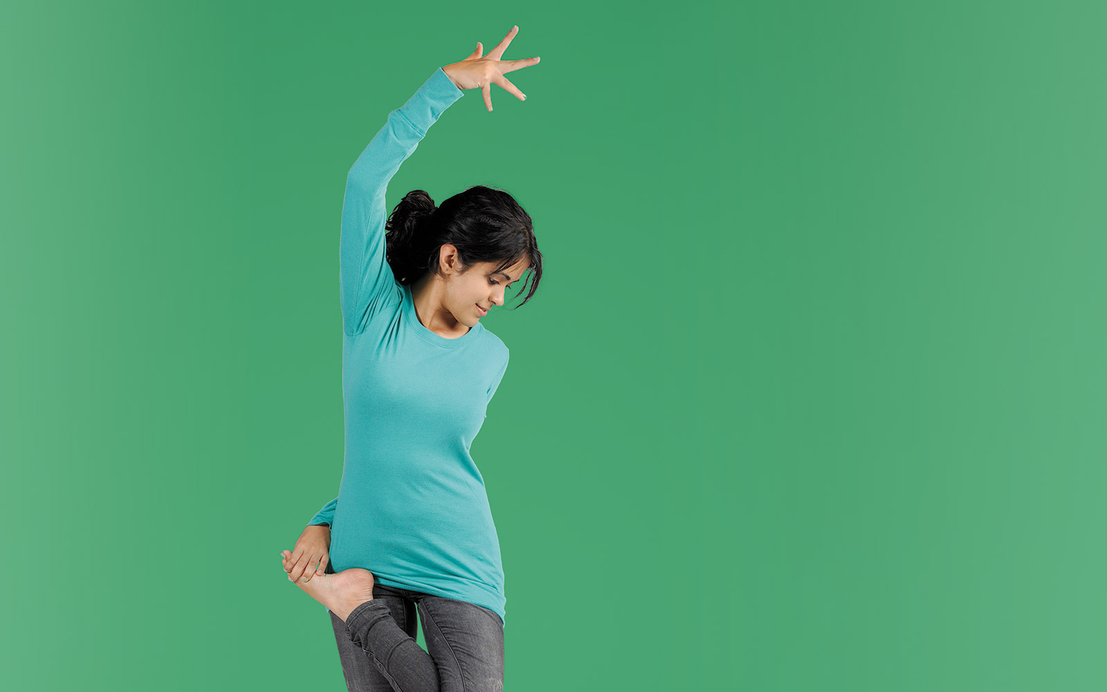 "Nitya Daryanani is from Mumbai, India, and has been practicing ""integral yoga"" for six years."