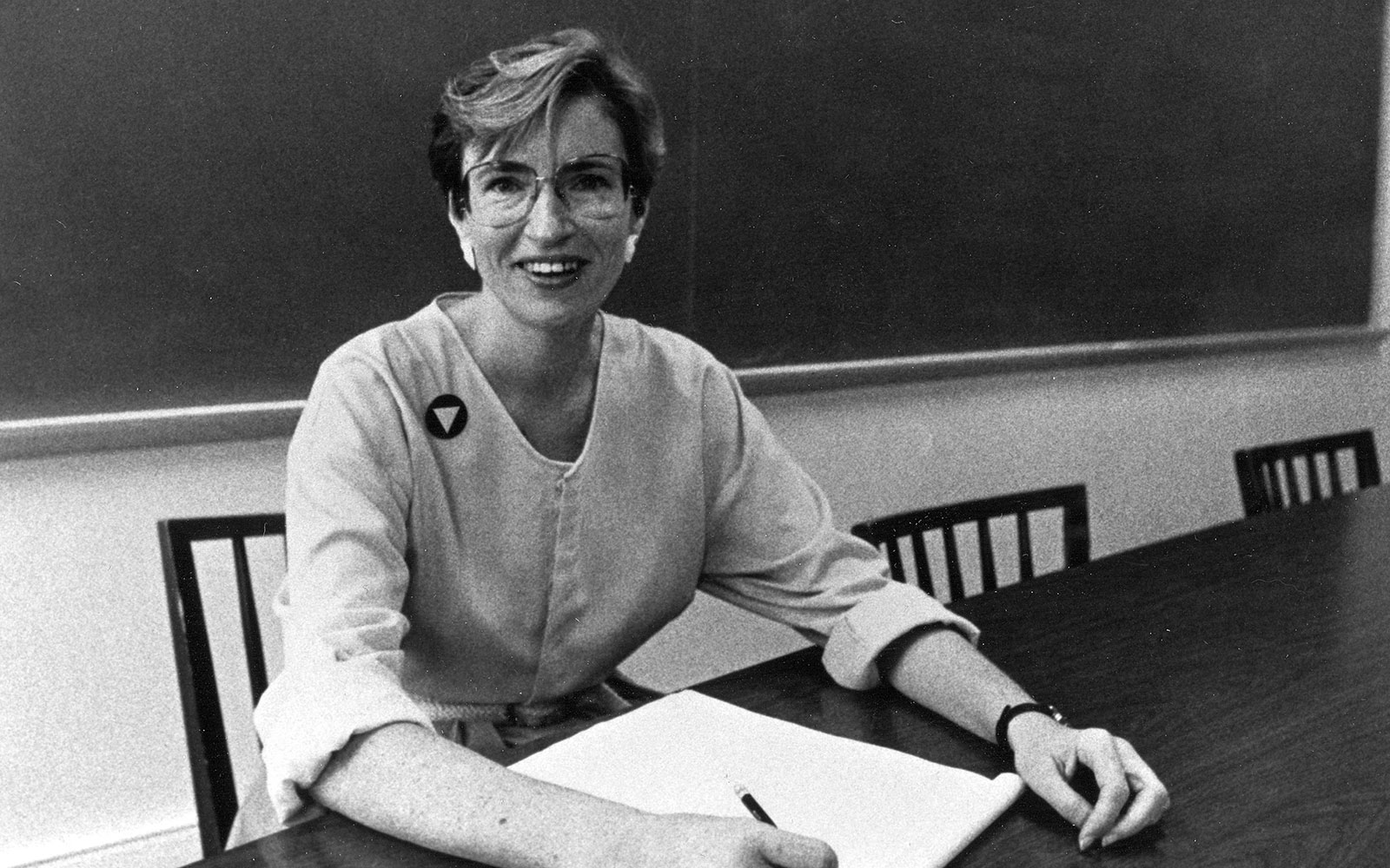 1986 - Anne Shaver acted as a mentor to gay students and offered the first course in gay and lesbian studies at Denison.