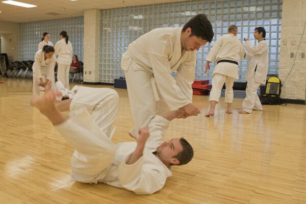 Martial Arts takedown