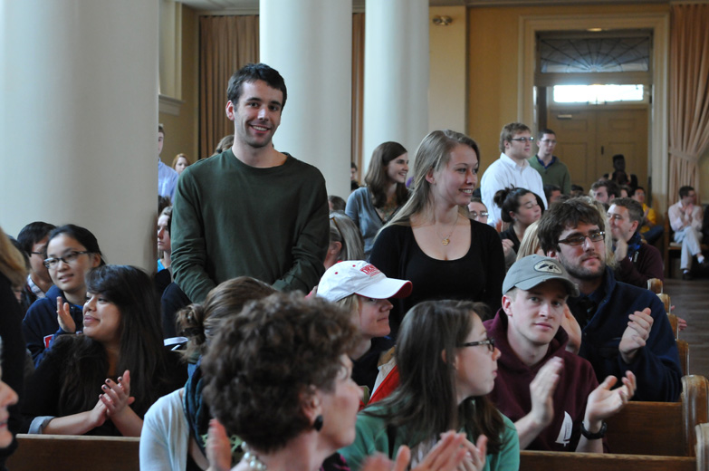 Swasey Chapel is home to some of the college's most celebrated moments.