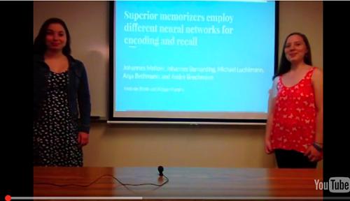 students giving presentation1