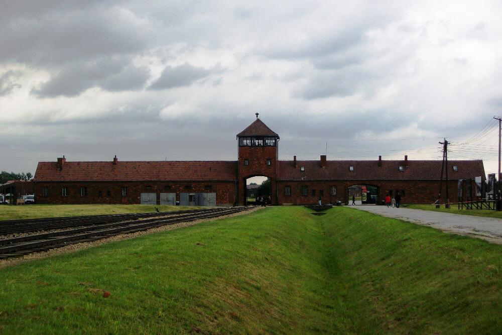McLaughlin in Auschwitz Poland5