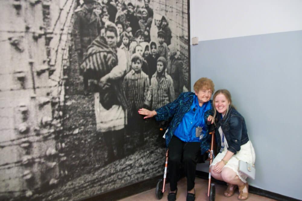 McLaughlin in Auschwitz Poland2