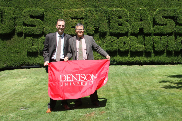 Both changed by Denison, two alumni cross paths in Bolivia.