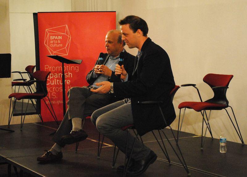 Drew Lichtenberg '05 with Rick Davis