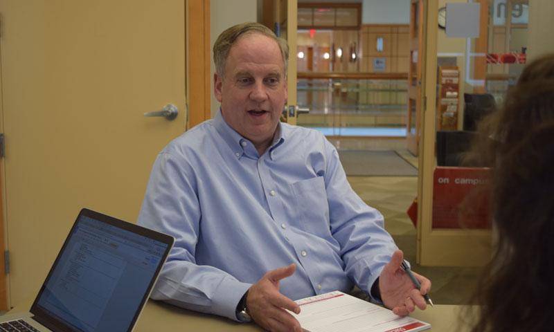 Hank Malin, executive director of the Knowlton Center for Career Exploration