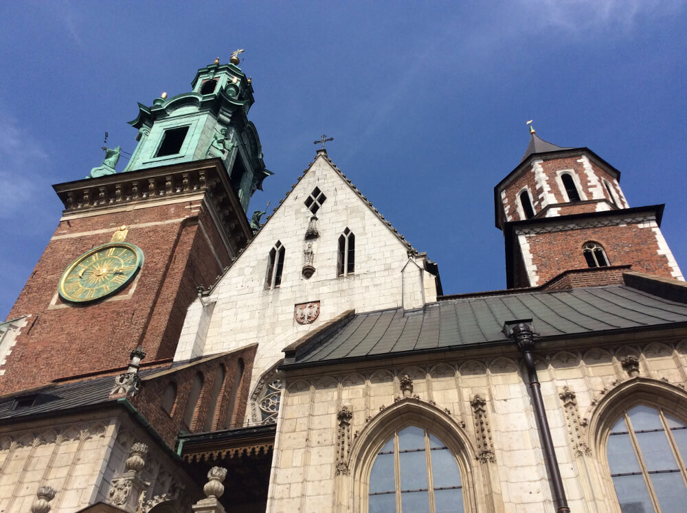 front_facade_of_wawel_cathedral