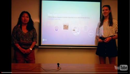 students giving presentation5