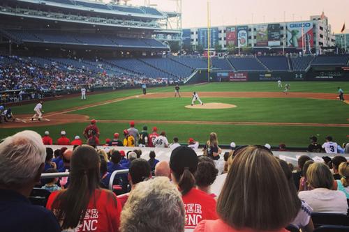 Lugar Scholars baseball game