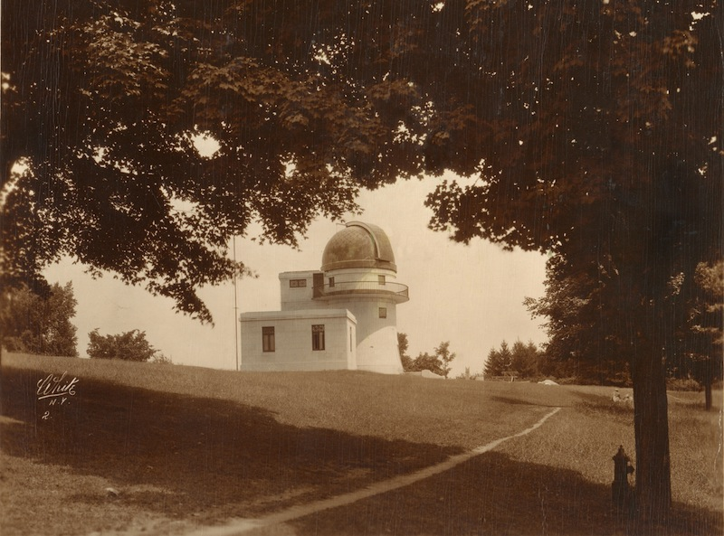 Classic photos of Swasey Observatory spanning the 20th Century.