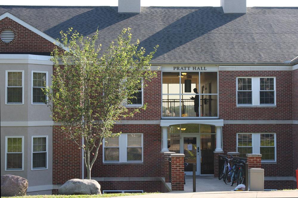 Pratt Hall Campus Map