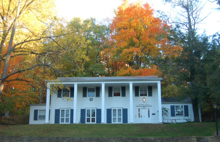 Mulberry House in the Fall