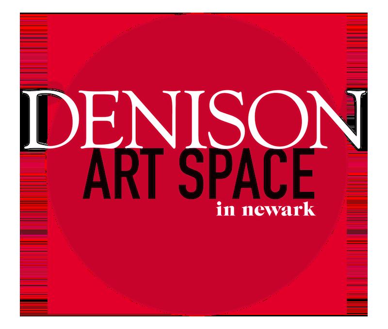 Denison Art Space in Newark logo
