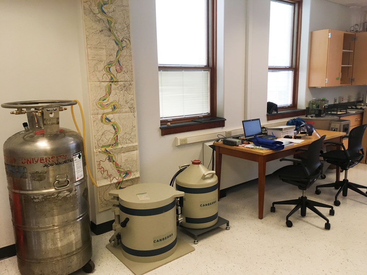 Geosciences facilities