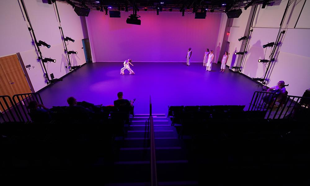 Thorsen Dance Studio (Credit: Courtesy of DLR Group|Westlake Reed Leskosky; Kevin G. Reeves Photographer_