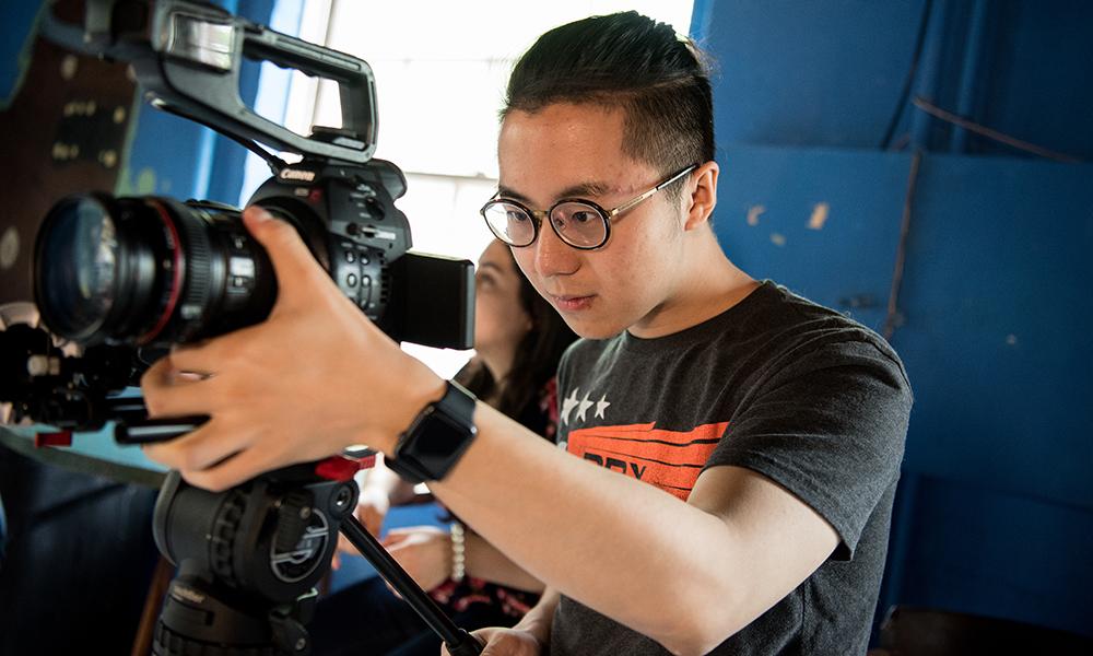 Student filmaking