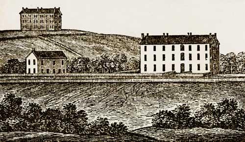 The Original Denison University Campus.
