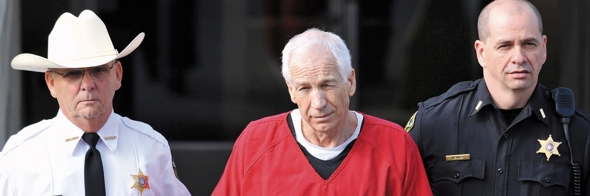 Sandusky was convicted of 45 of 48 counts and Cleland sentenced him to 30 to 60 years in prison—essentially a life sentence for the 68-year-old.