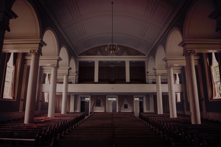 Inside Swasey Chapel