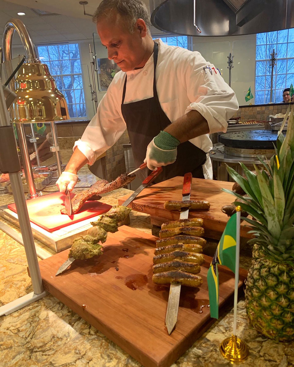Chef Mukesh does a cultural pop-up at Huffman