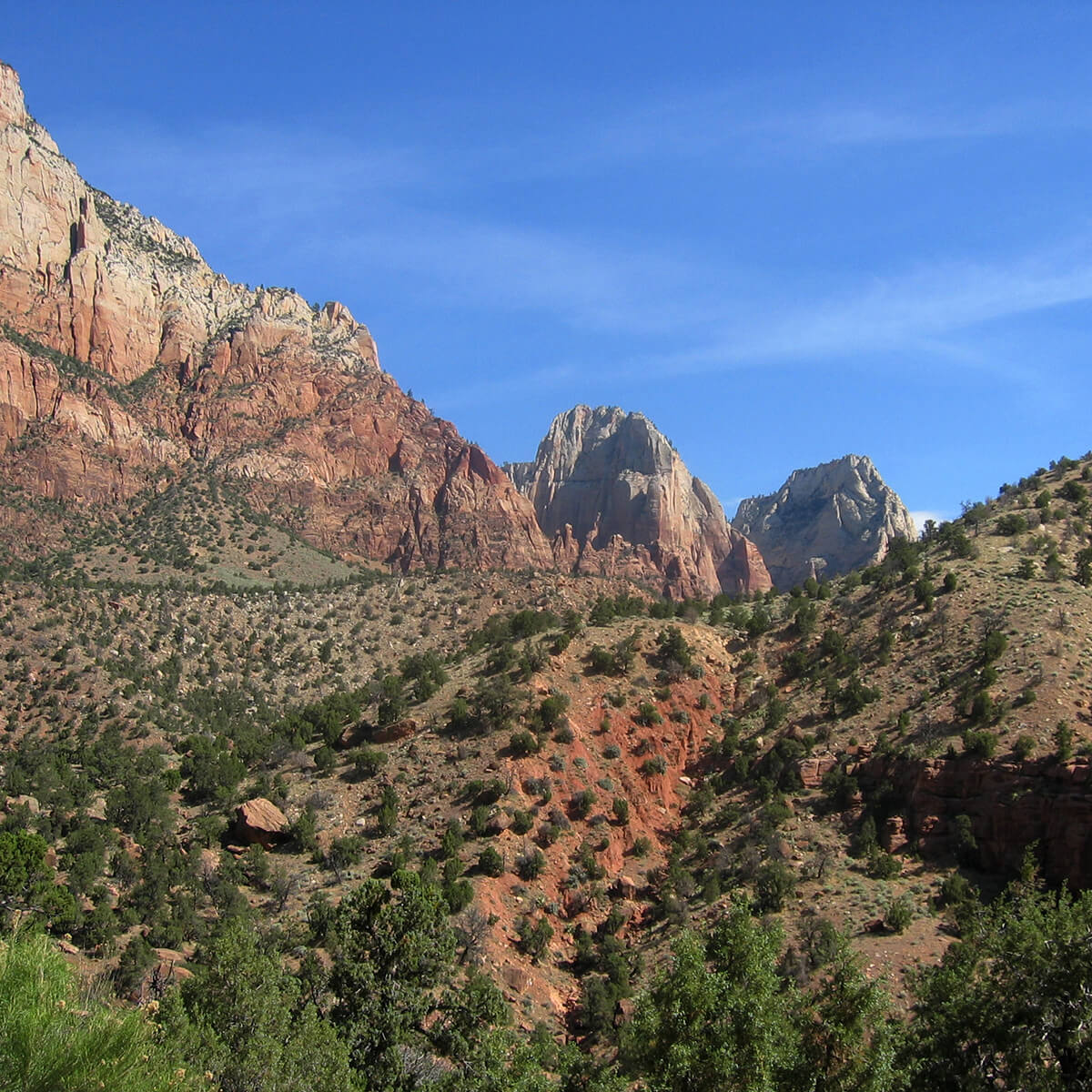 Mountains in Zion National Park