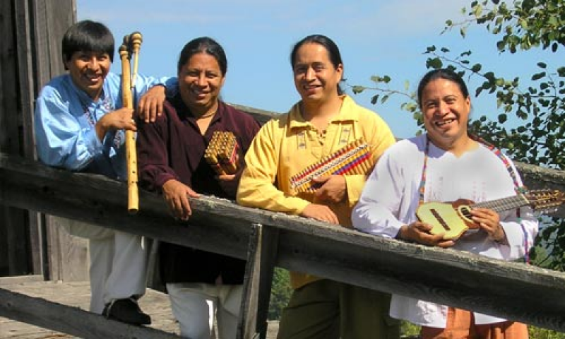 Photo of The musicians of Andes Manta