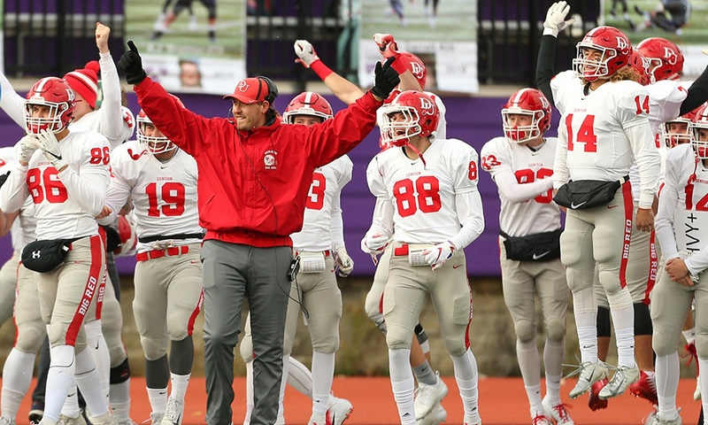 Denison football team takes the NCAC Championship
