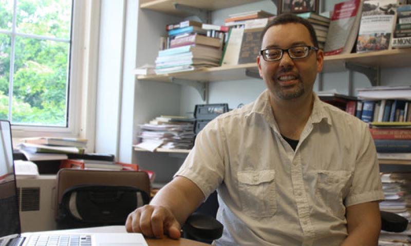 Fadhel Kaboub, associate professor of economics