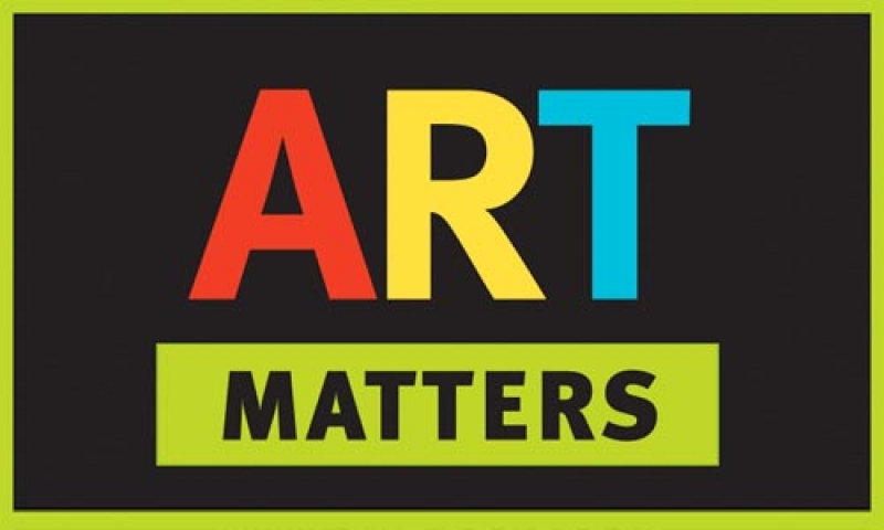 Picture saying ART MATTERS