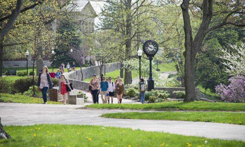 Campus Map Denison University