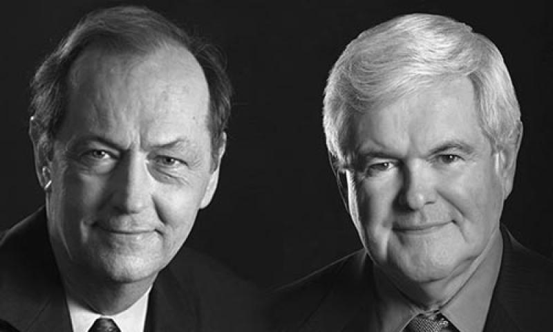 Bill Bradley and Newt Gingrich