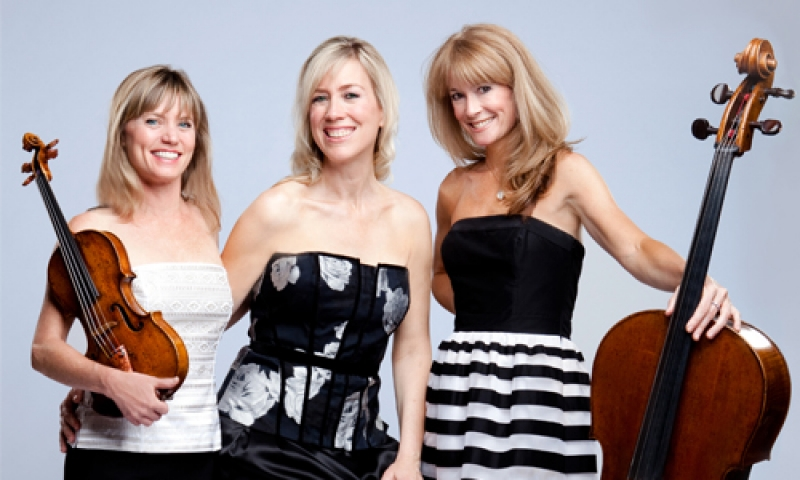 Photo of the Grammy nominated chamber music ensemble Eroica Trio