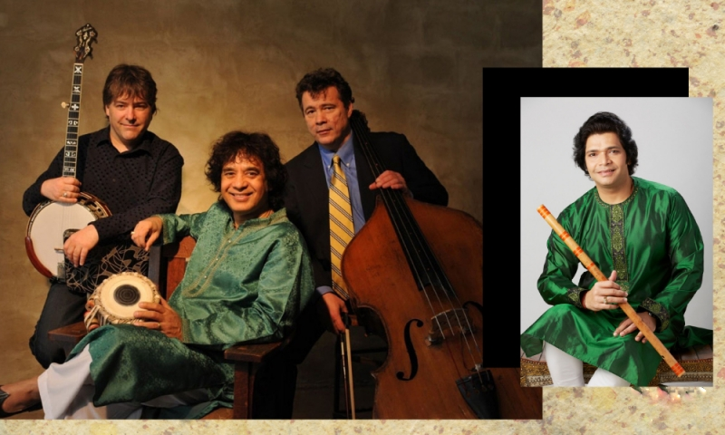 Image for Vail Series presents Béla Fleck, Zakir Hussain and Edgar Meyer with Rakesh Chaurasia