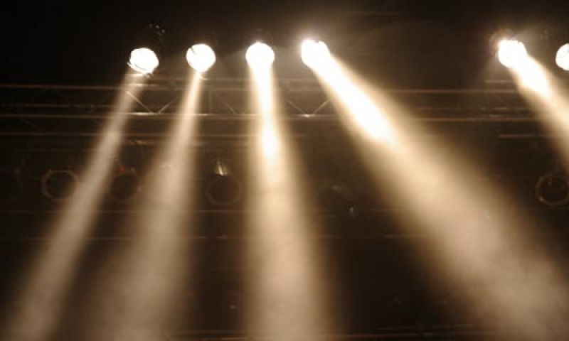 Photo of performance lights