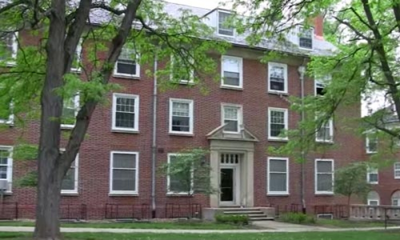 The East Residential Quad on Denison's campus