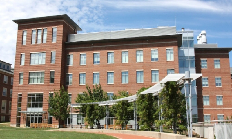 photograph of Samson Talbot Hall of Biological Science