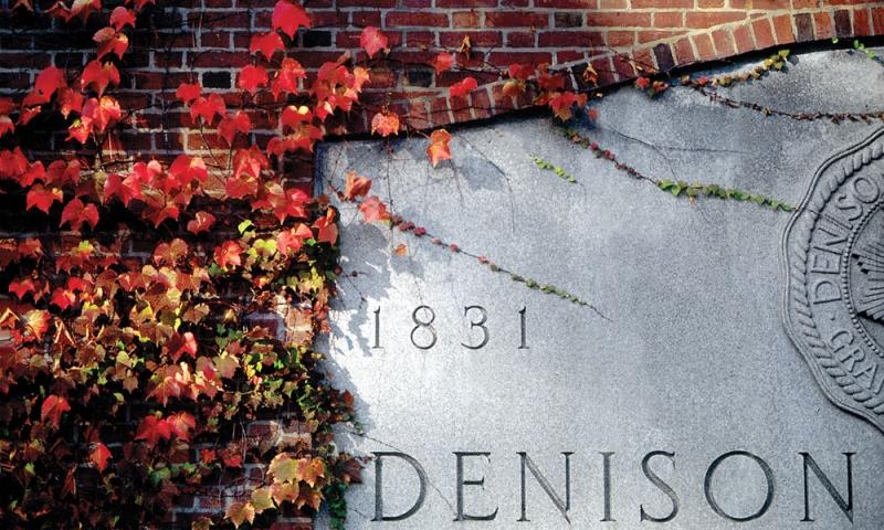 Denison anniversary stone