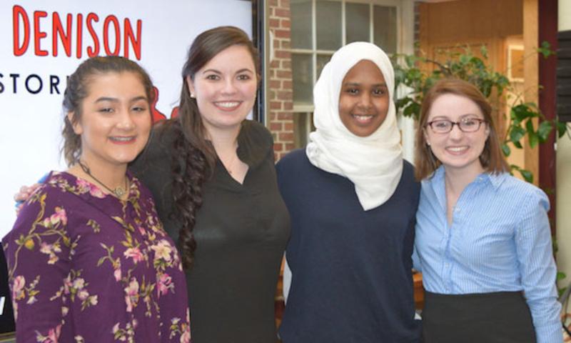 Students at refugee awareness week 2016