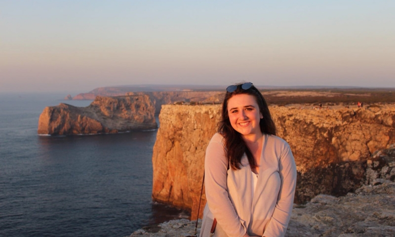 Laden '19 watching the sunset in Portugal