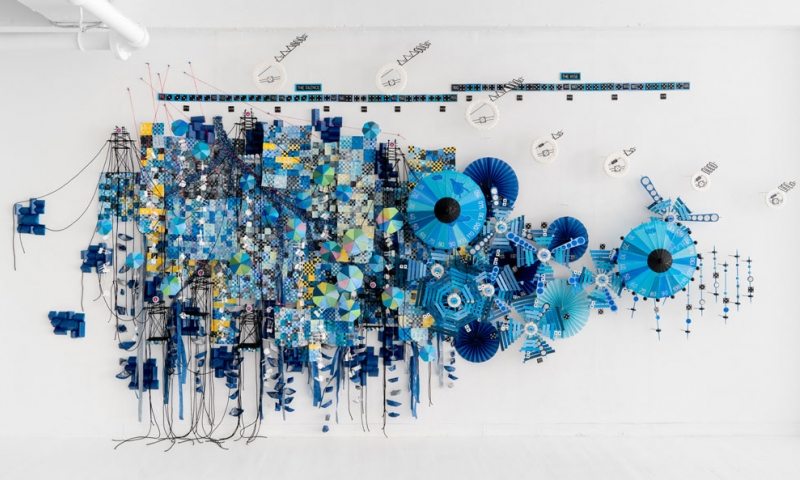 Nathalie Miebach artwork