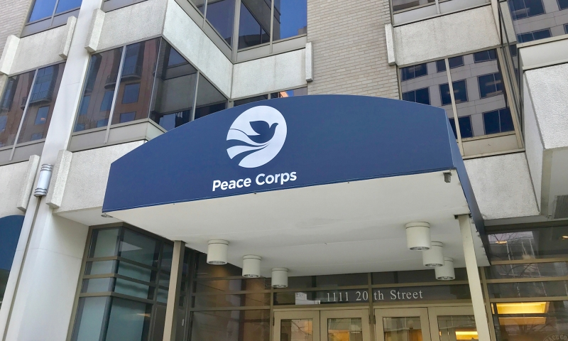 Peace corps office building
