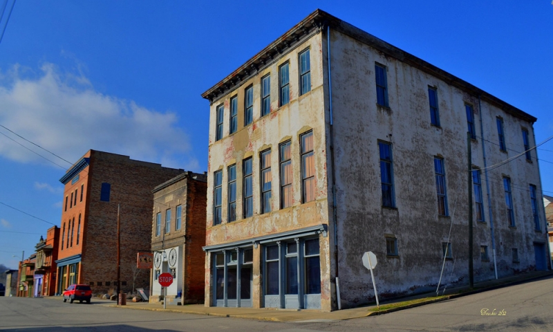 Shawnee Ohio Tecumseh Theater. Photo by Mike Tewkesbury