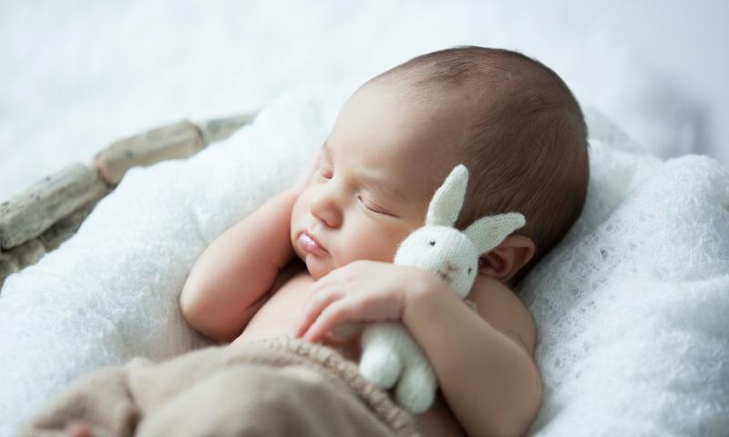 Image of baby sleeping
