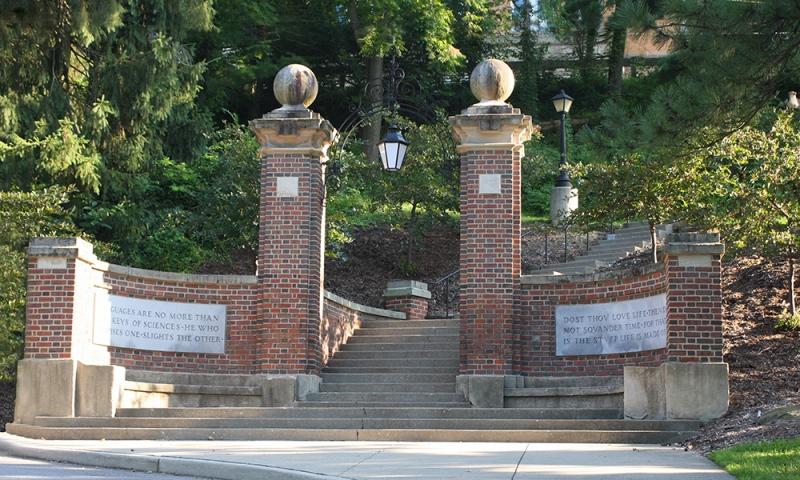 An Entrance to Denison University