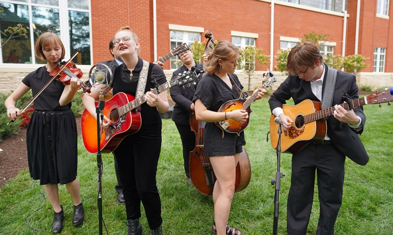 Bluegrass/American Roots students